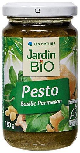 Jardin Bio Sauce Pesto Verde 180 g - Lot de 3