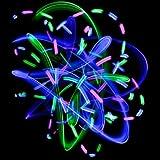 GloFX Umlaufbahn Rave Licht - Runde Kreis - Null Rassel - 6 geführt
