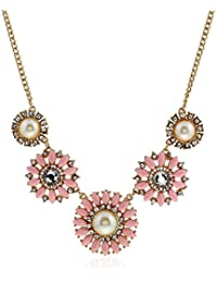Shining Diva Fashion Jewellery Modern Western Party Wear Necklace For Women Stylish Necklace For Girls