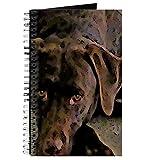 CafePress–Schokolade Lab–Spiralbindung Journal Notebook, persönliches Tagebuch, Aufgabe Tagebuch