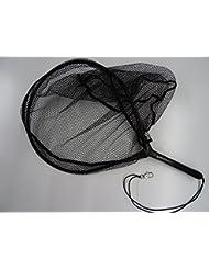 Balzer Épuisette en caoutchouc pour pêche de truite 65 cm