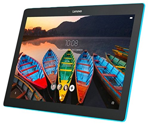 Lenovo TAB 10 - Tablet de 10.1' (Procesador MT8909, 1GB de RAM, memoria interna de 16GB, Camara frontal de 5MP, Sistema Operativo Android 6.0, WiFi + Bluetooth 4.0) color negro