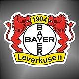 Aufkleber - Sticker Bayer Leverkusen champions league europe football sticker