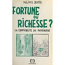 Fortune ou richesse ? La comptabilité du patrimoine