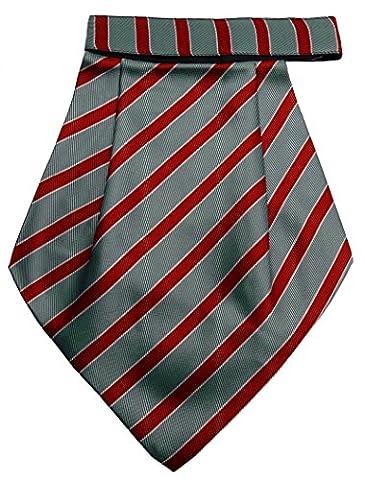 Hommes Polyester Tuxedo Couture Cravat Ascot Vêtements De Soirée De Mariage Foulard Porter