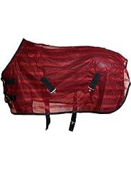 Couverture anti-mouche 85-165cm en trois couleurs avec sangles croisées