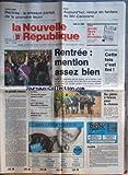 NOUVELLE REPUBLIQUE (LA) [No 13658] du 06/09/1989 - LA GRANDE EVASION PAR GERBAUD - BATIMENT / FRANCIS BOUYGUES PASSE LA MAIN - CINEMA A DEAUVILLE - LES SPORTS - F1 ET PROST - ONZE TRICOLORE
