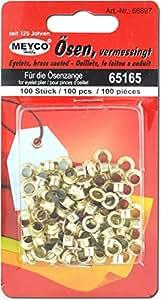 Meyco 100 OEillets en métal diametre 5 mm