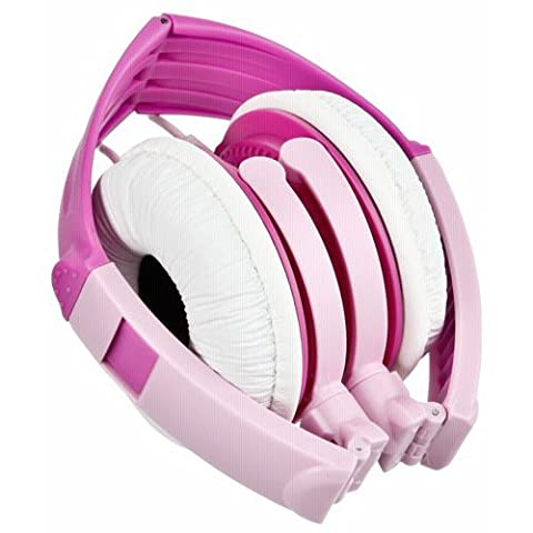 Panasonic RP-DJS200E-P Stylish Street Style Headphones - Pink