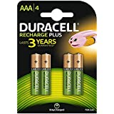 Duracell - Pile Rechargeable - AAA x 4 (LR03)