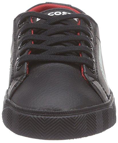 4ba5a20309 Lacoste MARCEL CLC, Sneakers basses mixte enfant Noir - Schwarz (BLK/BLK  02H ...