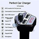 Best Cargador USB iClever - Zyx Cargador Bluetooth para Coche Reproductor De MP3 Review
