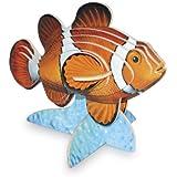 Legler - Puzzle 3d animales, pez payaso