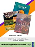 #8:  NCERT Books Set (English Medium) for UPSC Exam (Prelims, Mains), IAS, Civil Services, IFS, IES and other exams