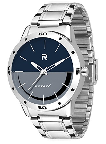 Redux Rock Analog Blue-Grey Dial Men's & Boys Watch -RWS0042S