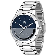 Redux Stainless Steel Blue & Grey Dial Analog Mens Watch (RWS0042S)