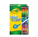 Crayola - Juego de rotuladores lavables (50 unidades)