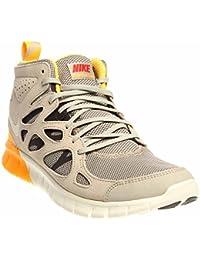 561232dd90a4af NIKE Free Run 2 Sneakerboot Sneaker Boot Aktuelles Modell 2014  grau schwarz gelb