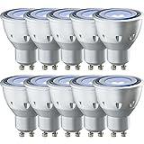 10 x Paulmann LED Leuchtmittel Reflektor 4,5W GU10 Schwarzlicht Black light 100°
