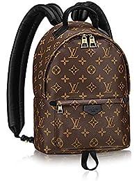 Louis Vuitton Auténtico Monogram lienzo palm Springs mochila bolso de mano PM artículo: m41560 fabricado
