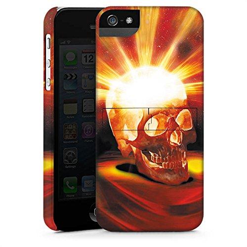 Apple iPhone X Silikon Hülle Case Schutzhülle Totenkopf Halloween Asche Premium Case StandUp