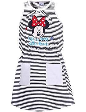 DISNEY Mädchen Minnie Mouse Kleid, dunkelblau
