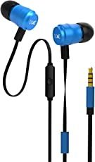 Boat Bassheads 235 V2 in-Ear Super Extra Bass Earphones with Mic (Ocean Blue)