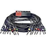 Stagg SML5/8P8P E Multicore Kabel 5m 8x Monoklinke