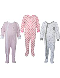 Teddy's Choice 100% Cotton Multi color 3 Combo Kid's Romper for 6-9 Months :Modle-010