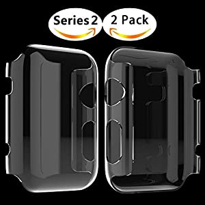 Apple Watch Hülle, Misxi Apple Watch Case Hard PC iwatch Schutzfolie All-around Schutzhülle 0.3mm Ultra-Slim Schutz für i Watch