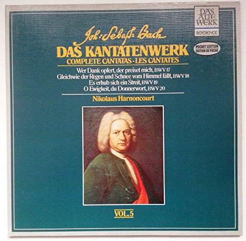 Preisvergleich Produktbild Bach: Das Kantatenwerk / Complete Cantatas - Vol. 5 (BWV 17 -20) (Pocket Edition) [Vinyl Doppel-LP] [Schallplatte]