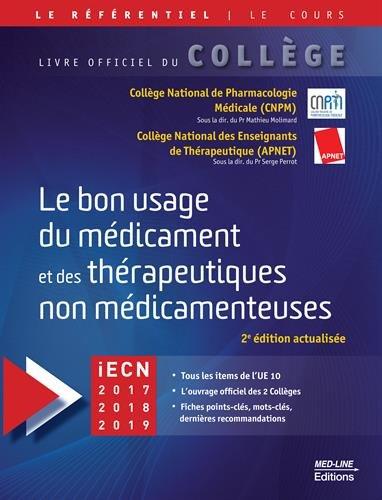 Le bon usage des médicaments et des thérapeutiques non-médicamenteuses par CNPM