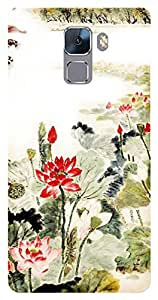 TrilMil Printed Designer Mobile Case Back Cover For Huawei Honor 7