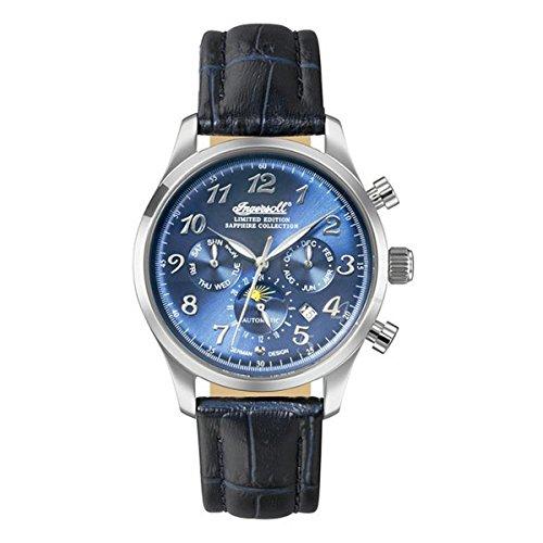 Ingersoll Damen Analog Automatik Uhr mit Leder Armband IN1420SBL