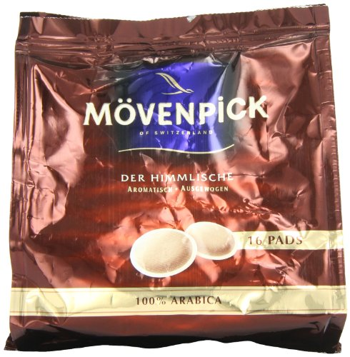 Mövenpick Kaffee-Pads 16 Pads, 6er Pack (6x 112 g)