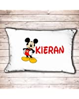 Personalised Mickey Mouse Pillowcase great Birthday or Christmas Gift