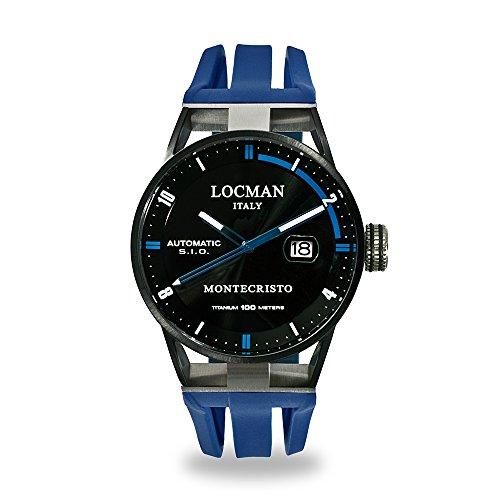 Uhr Herren Montecristo Schalter Blau LOCMAN