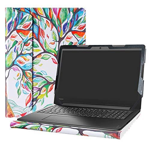 Alapmk Diseñado Especialmente La Funda Protectora de Cuero de PU Para 15.6' Lenovo IdeaPad 310 15 310-15ABR 310-15ISK 310-15IKB & IdeaPad 510 15 510-15isk 510-15ikb Ordenador portátil (No compatible con: IdeaPad 310s/320s/330/320/520),Love Tree