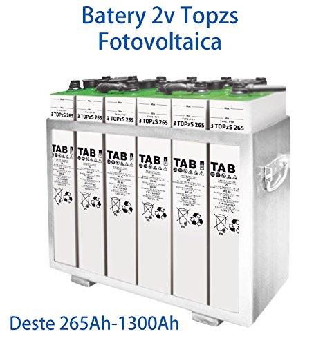 Las baterías solares TOPZS Y OPZS están formadas mediante vasos de 2V y permiten acumular grandes cantidades de energía. Tienen una larga vida útil a los 15 años a 20 años y permiten profundos ciclos de descarga diarios con resultados excelentes ante...