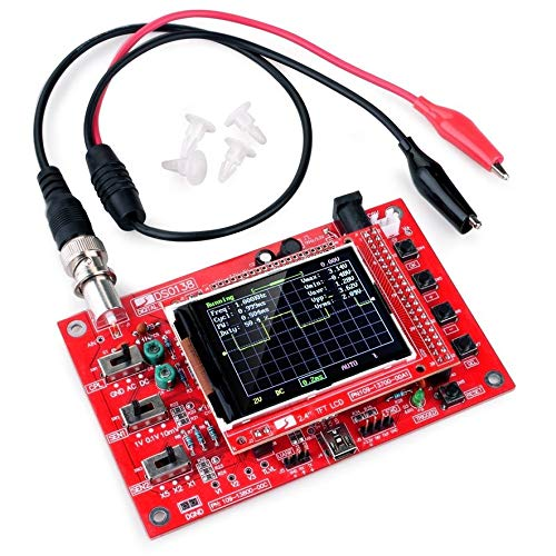 8Eninide DSO138 2.4 Inch TFT Digital Oscilloscope Welded/DIY Parts Kit/Acrylic