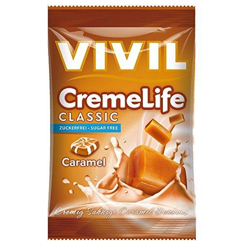 Preisvergleich Produktbild Vivil Creme Life Classic Caramel zuckerfrei 110g