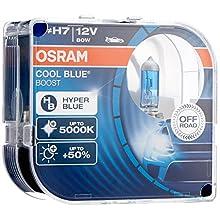 Osram 62210CBB-HCB Cool Hyper Plus Off Road Headlamp Bulb, Blue, 12 V, Set of 2