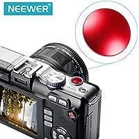 Neewer–10mm di diametro in metallo rosso convesso morbido pulsante di scatto per Fujifilm X100Leica M6/M8/M9, Nikon, Canon, Hasselblad, Olympus, Minolta, Rolleiflex fotocamere SLR