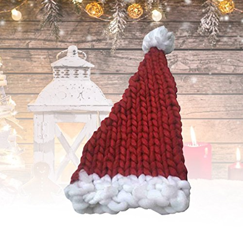 Für Erwachsene Stricken Santa Hut bei Kostumeh.de