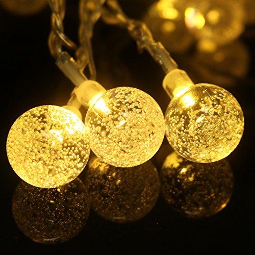 LED Lichterkette 30 LED Globe kr...