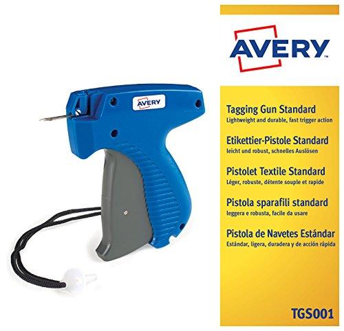 AVERY - Pistolet textile standard couleur Bleu/Gris