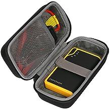 co2CREA Almacenamiento Viajar que Lleva Caja Bolsa Fundas para DBPOWERA 300A Peak 8000mAh Portable Car Jump Starter DJS40 Battery Charger Phone Power Bank