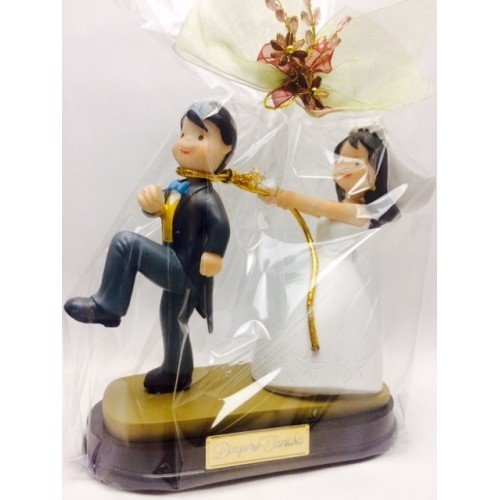 CUSTOMIZED wedding figure sweethearts cake tart figures RECORDED original