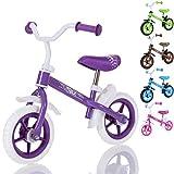LCP Kids TRAX Bicicletta senza pedali per bambini da 2 anni, colore viola