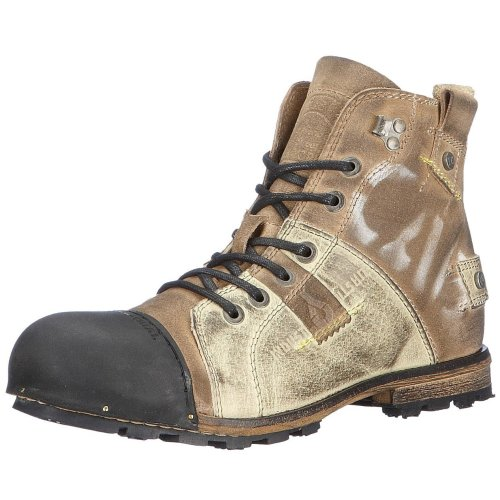 oben Yellow Cab Herren Industrial M Biker Boots: Schuhe